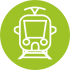 иконка трамвай